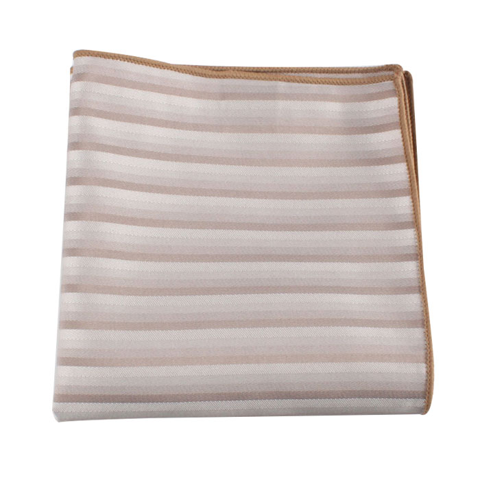 polyester stripes handkerchief