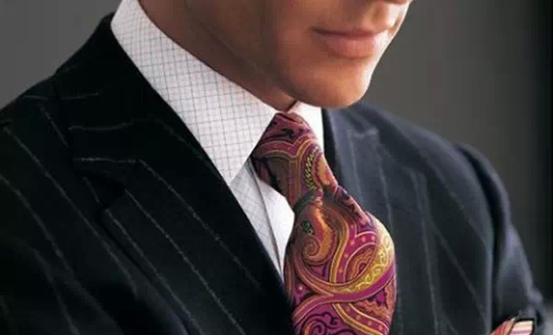 The men's ties reflect your personality
