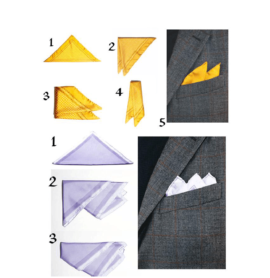 How to fold your pocket square