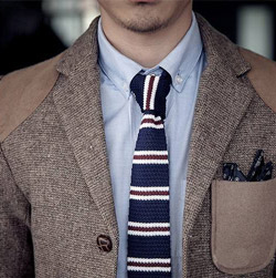Knitted Ties-The beat match With your shirt in the Cool autumn