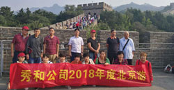 The Beijing 5-day tour for Excellent employees