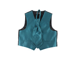 Latest custom fashion kids party vest set
