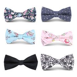 Fashion06 mens cotton bow tie