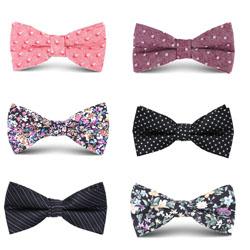 Fashion08 mens cotton bow tie