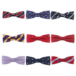 Fashion custom men's polyester bow tie 2018