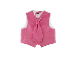 Custom various kids party vest sets for baby girls
