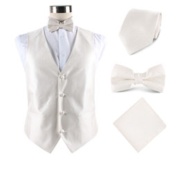 Custom various Men's fashion wedding and party vest set
