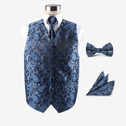fashion17 men's vest set