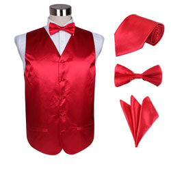 fashion03 men's vest set