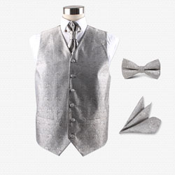 Men's party wedding hotel vest set
