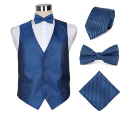 high-end03 men's party wedding hotel vest set