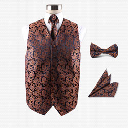 high-end men's party wedding hotel vest set