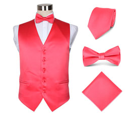 fashion07 men's party wedding hotel vest set