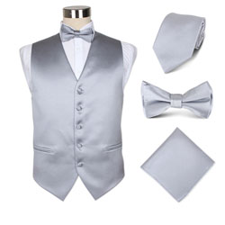 polyester vest set for waiters