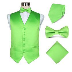 fashion mens party wedding vest set