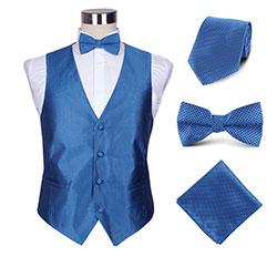 hotel02 polyester vest set for men