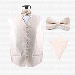 wedding TR vest set for men