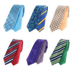 Custom high grade reversible ties
