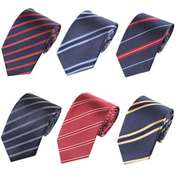 New style Men's silk striped business Ties