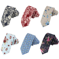 Customize/Wholesale printed cotton neckties
