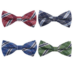 Conventional polyester woven bow tie