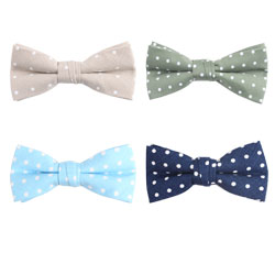 Fashion dot cotton bow tie