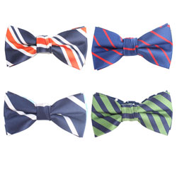 Customize/Wholesale Latest Men's polyester bow ties