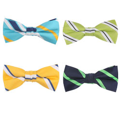 New style fancy striped polyester ties