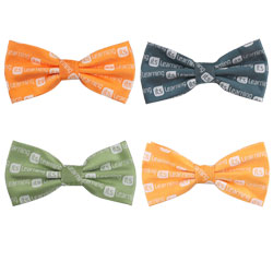 Fashion polyester elastic bow tie