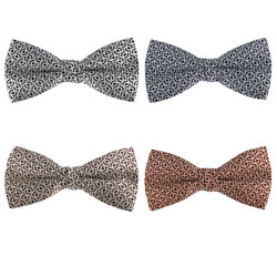 High-end silk woven bow tie