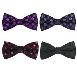 Silk woven high-end bow tie