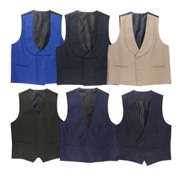 Polyester Good Touch Custom Round Neck High Quliaty Vest