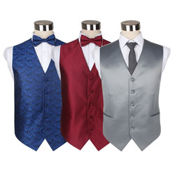 Factory customized latest polyester mens waistcoat
