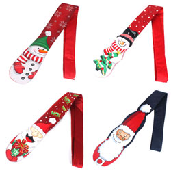 2018 latest Christmas ties for kids and men