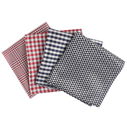 Mens casual Fashion polyester woven pocket square