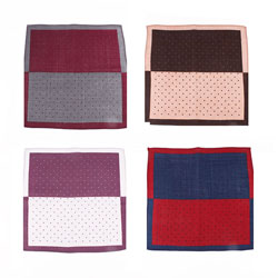 Fashion new woven cotton handkerchief