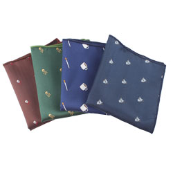 2017 latest polyester woven handkerchief for men