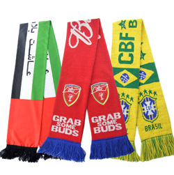 Custom various World Cup Olympic Games Football Scarf