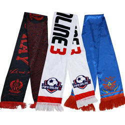 Customize all kinds of sports games football scarf