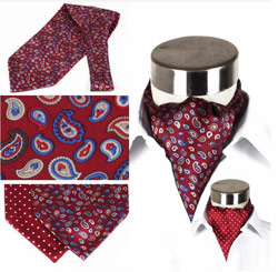 Custom/Wholesale various mens Fashion silk cravat