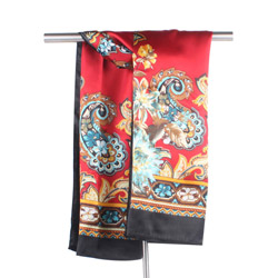 Ladies' fashion new polyester printed scarves