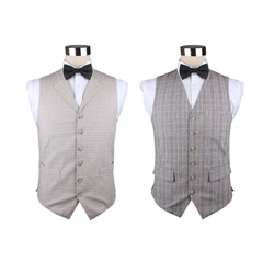 2018 Factory custom cotton casual waistcoats
