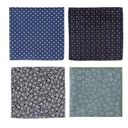 2019 New styles casual cotton pocket square