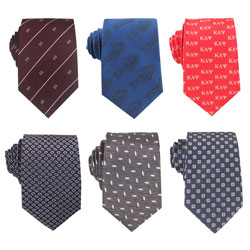 Fashion mens business woven ties with logo and patterns