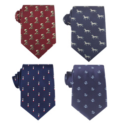 2018 latest men's silk business necktie with personalized patterns
