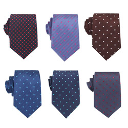 2018 New style men's polyester business dot pattern necktie