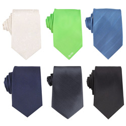 Fashion mens Pure color business formal necktie