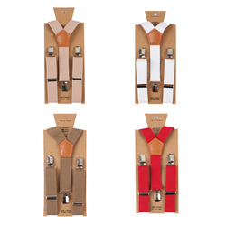 Fashion kids casual Pure color elastic suspender