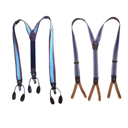 Latest casual elastic leather suspender