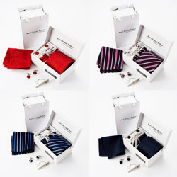 2018 Latest style Stock necktie gift set For wholesale